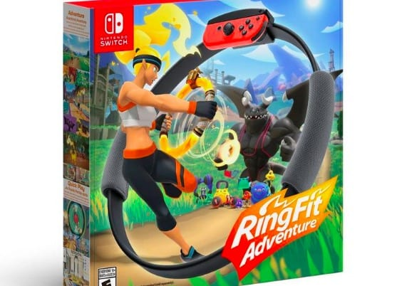 Ring fit adventure, nintendo holiday gifts, 2019, best presents for fans