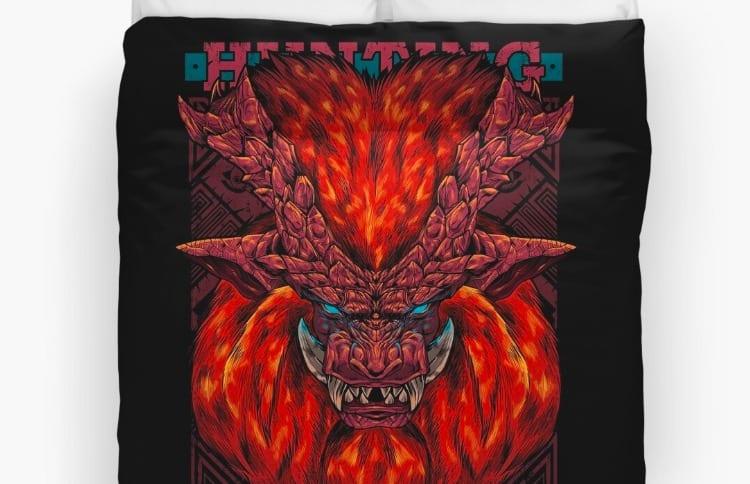 Duvet covers, monster hunter, holiday gift guide