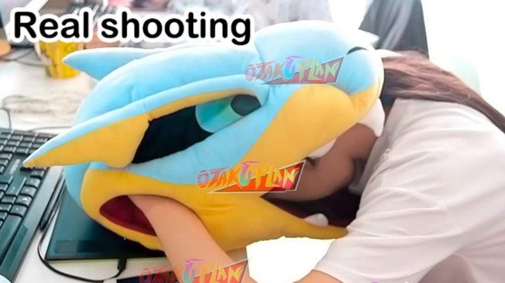 Tigrex head pillow,