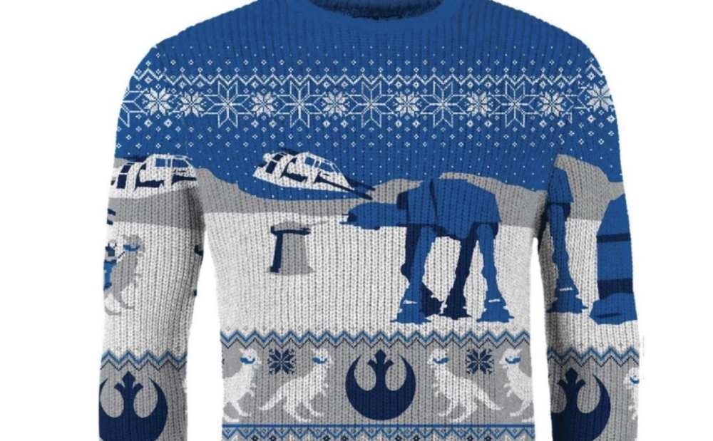 star wars hoth sweater