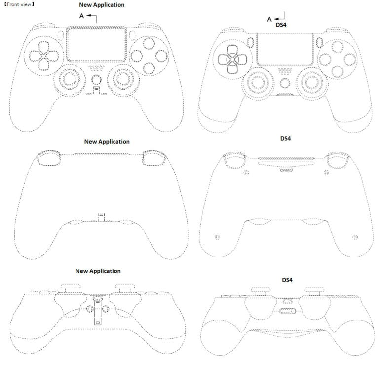 Sony Files For A Controller Patent; Possibly Describes The PlayStation 5 Controller