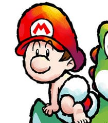 Baby Mario, Yoshi, Video Game Characters That Are Just as Cute as Baby Yoda