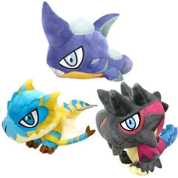 monster hunter, plush, jrpg