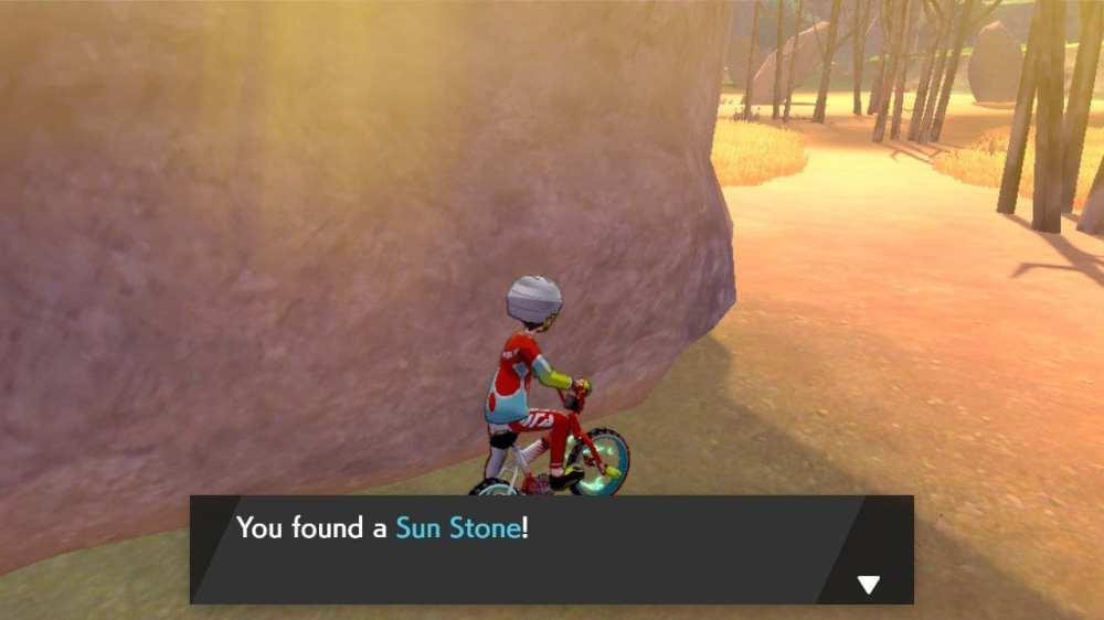 pokemon espada y escudo sol piedra ubicación