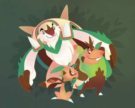 24. Chespin, Quilladin & Chesnaught