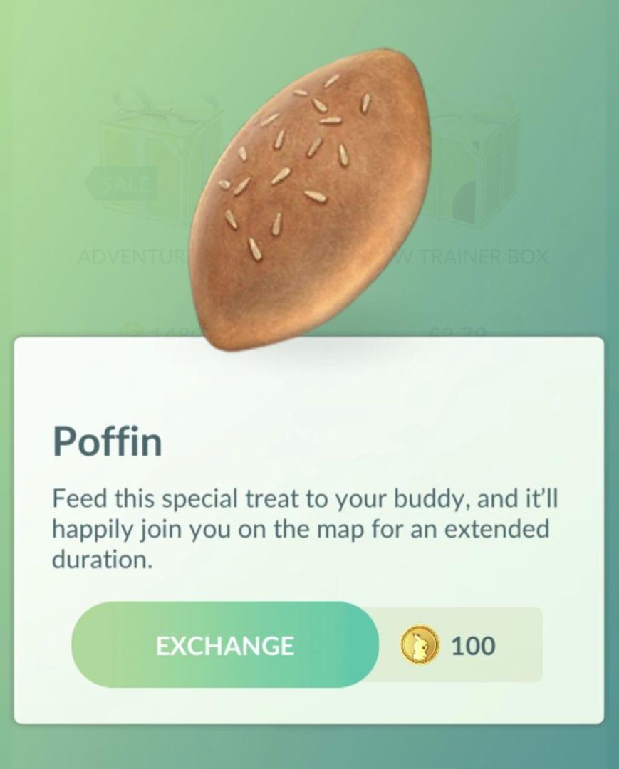 Pokemon GO Poffins, How to Use Poffin in Pokemon GO