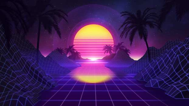 5 Themes - Synthwave Dynamic Theme Bundle