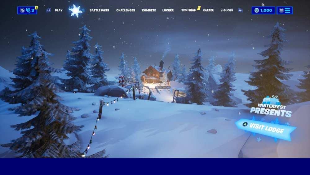 Fortnite Christmas Tree skin