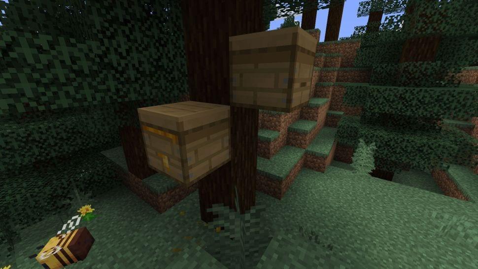 Minecraft honey, Minecraft bees
