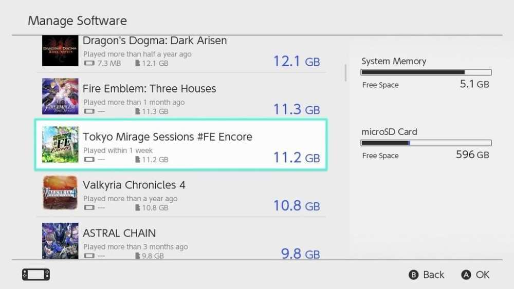 Tokyo Mirage Sessions #FE install size