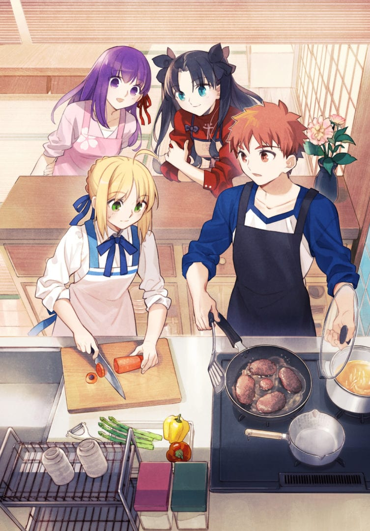 Fate Today's Menu for the Emiya Family