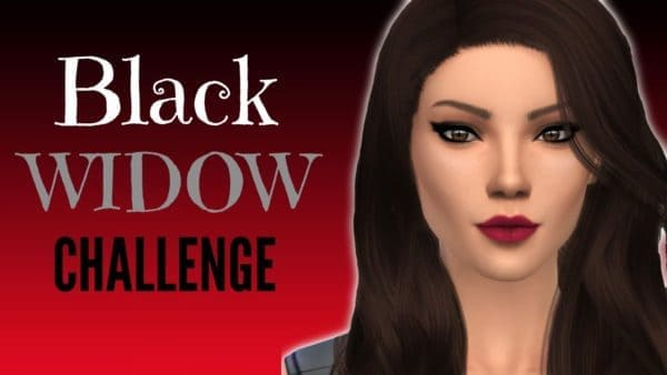 black widow, sims 4 challenges to try