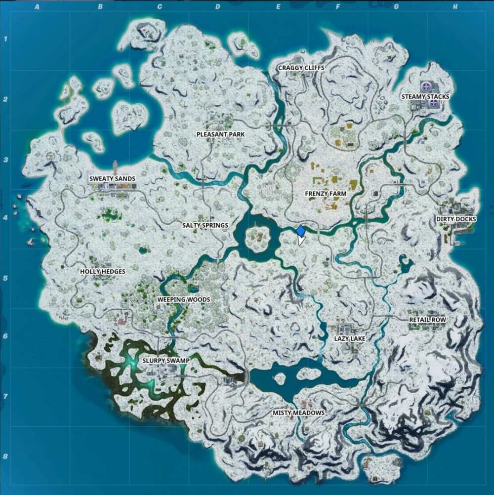 Fortnite Crackshot's Cabin location