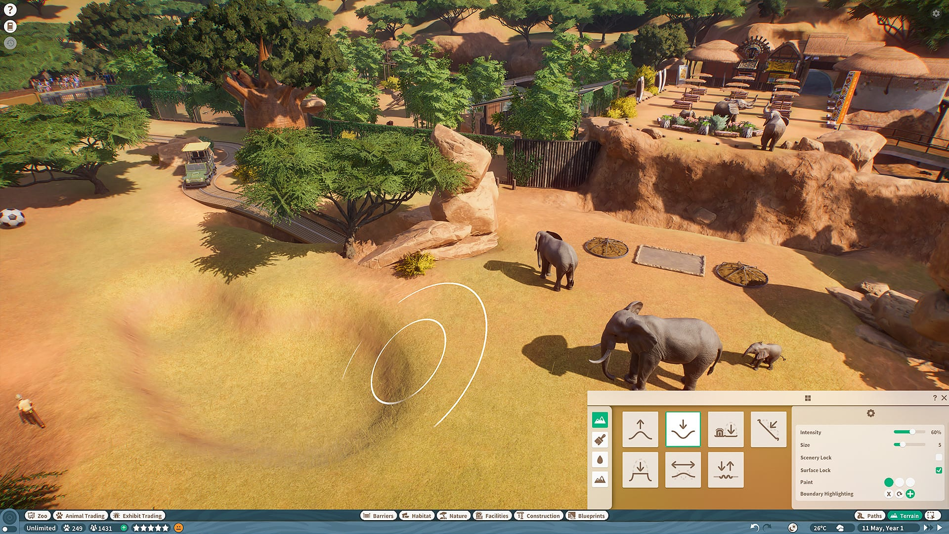 Planet Zoo: How to Feed Animals