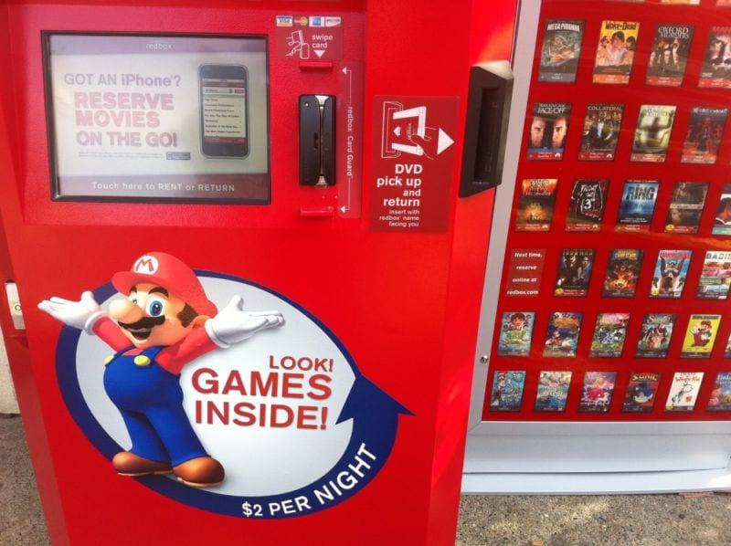 redbox, rental, rent, game