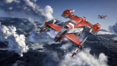 Star Citizen Drake Cutlass Red (2)