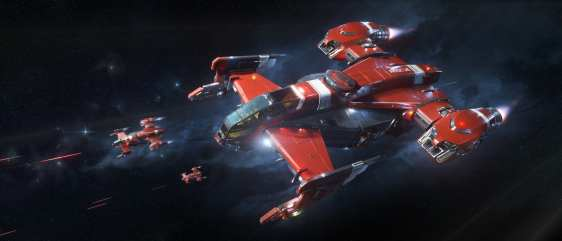 Star citizen Drake Cutlass RED (8)