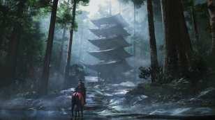 ghost of tsushima, dynamic theme, free theme