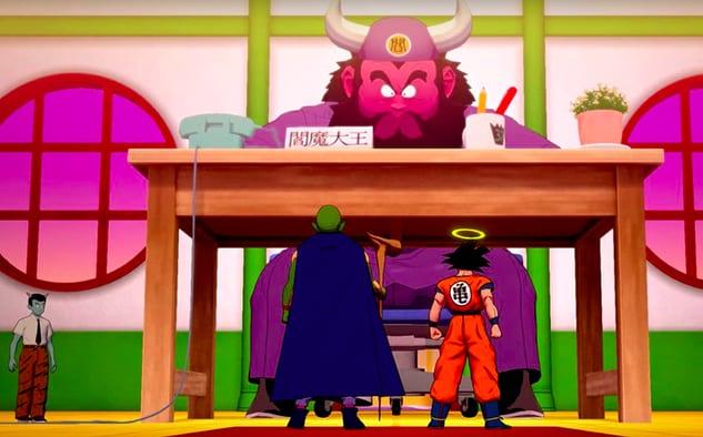 Dragon Ball Z Kakarot King Yemma quiz answers