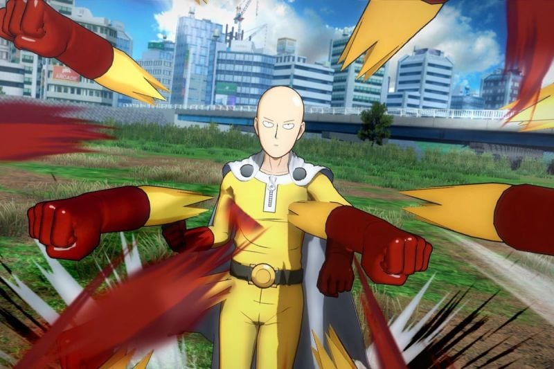 One punch man a hero nobody knows switch