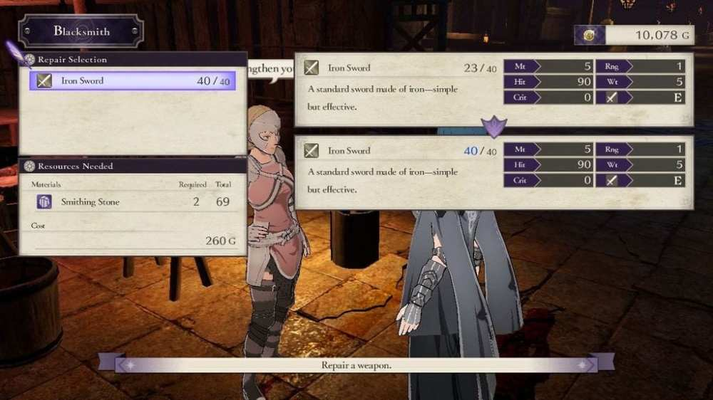 Smithing Stones Fire Emblem Three Houses Cindered Shadows