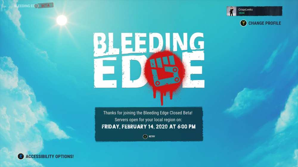 Bleeding Edge beta