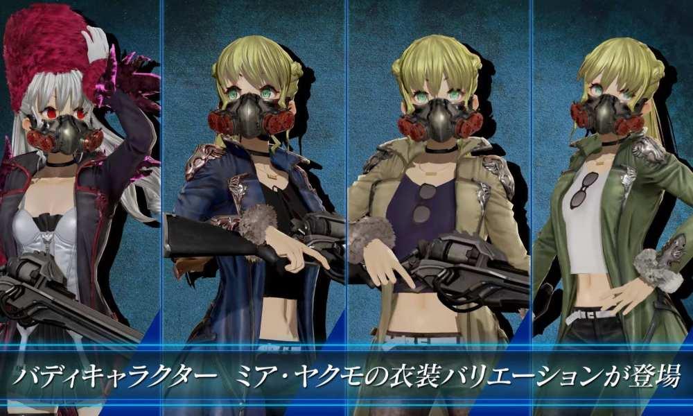CODE VEIN New Gameplay/Anime Trailer & Screenshots