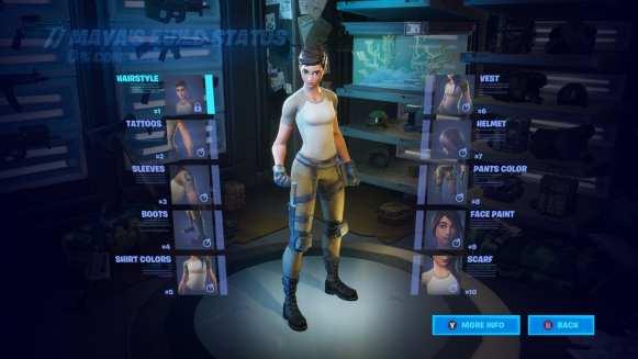 fortnite, maya skin, challenges
