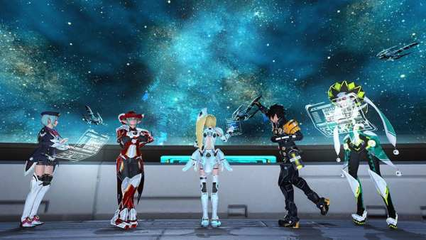 PSO2 beta, phantasy star online 2 beta