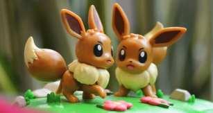 eevee, the pokemon center, funko figures