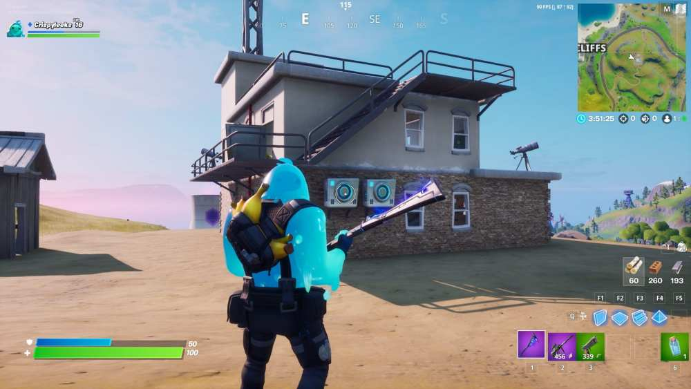 Fortnite Safe House locations