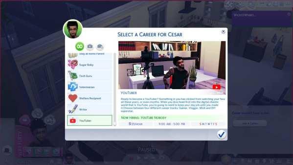 Sims 4 Jobs
