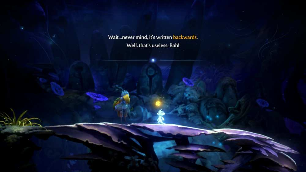 Midnight Burrows bell puzzle, Ori and the Will of the Wisps
