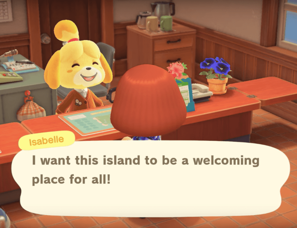 Isabelle in Animal Crossing: New Horizons