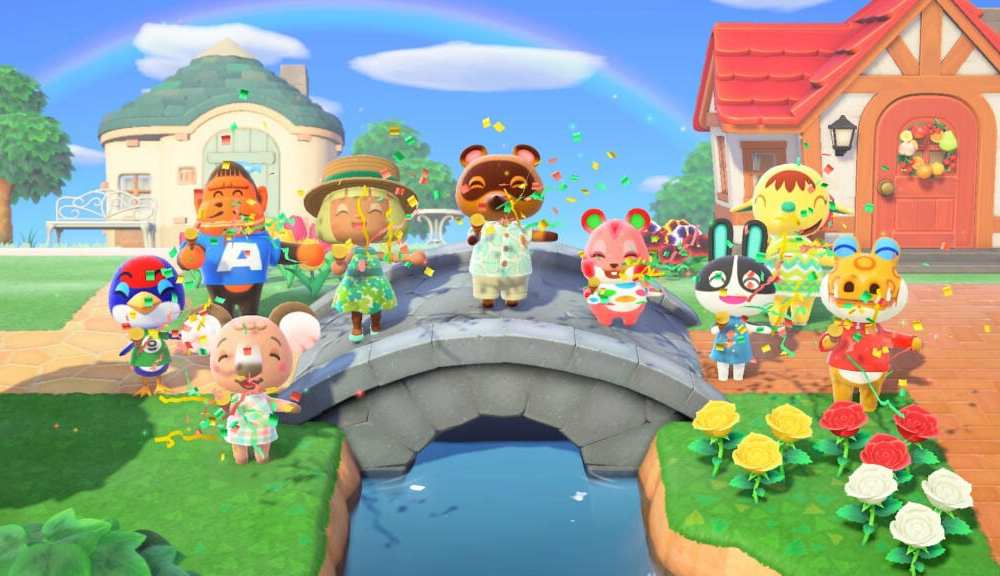 animal crossing new horizons island garden ideas