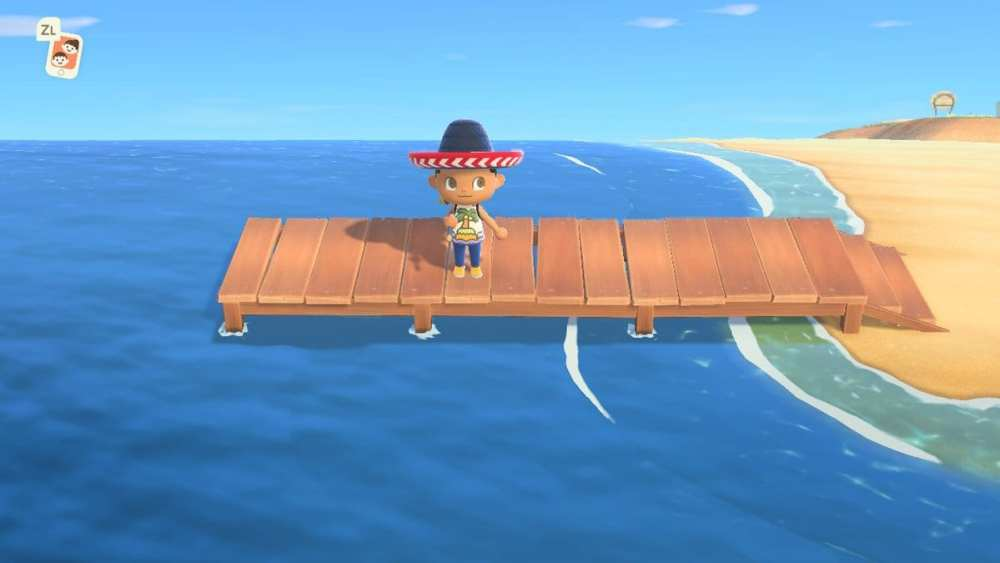 Animal Crossing New Horizons: Where to Find Pier & What You Can Catch There