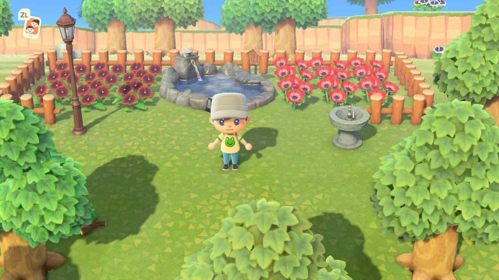 Animal Crossing New Horizons Community Garden
