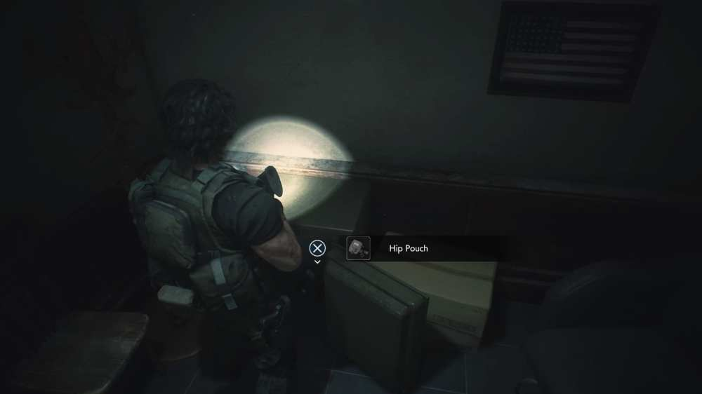 Police Station 1F West Office Safe Combination in Resident Evil 3