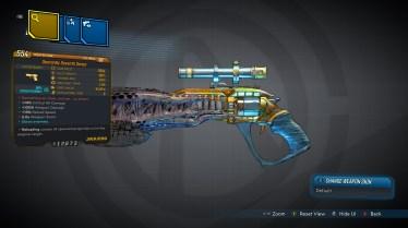 Seventh Sense Legendary Jakobs Pistol
