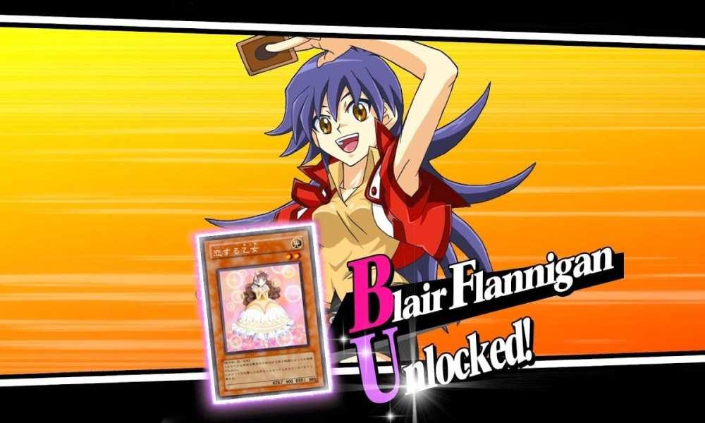yugioh duel links how to get blair flannigan