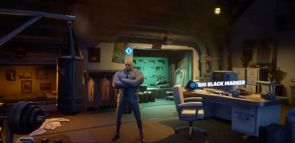 Deadpool's Big Black Marker in Fortnite