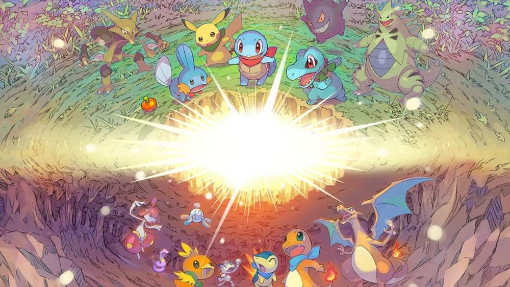 Pokemon Mystery Dungeon download size