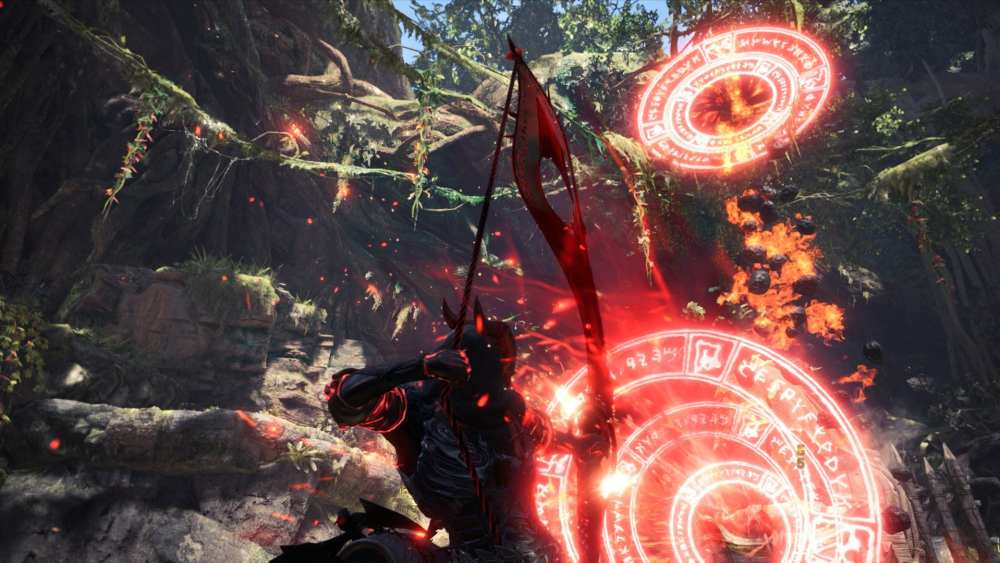 red magic bow, monster hunter world mods, march 2020