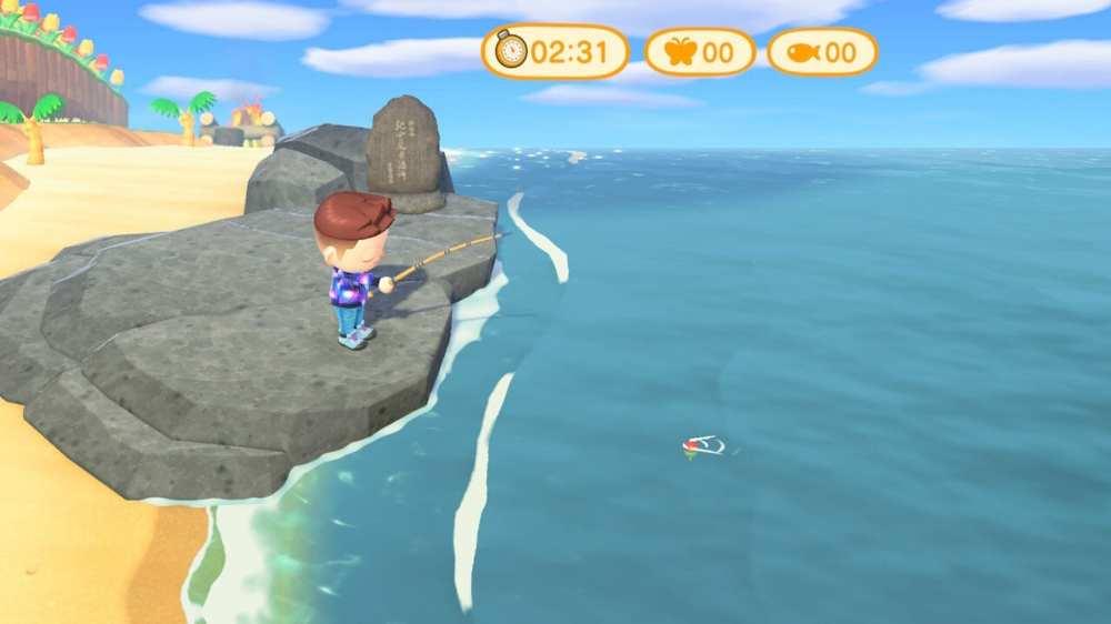 Animal Crossing New Horizons Timer Fishing Tournament