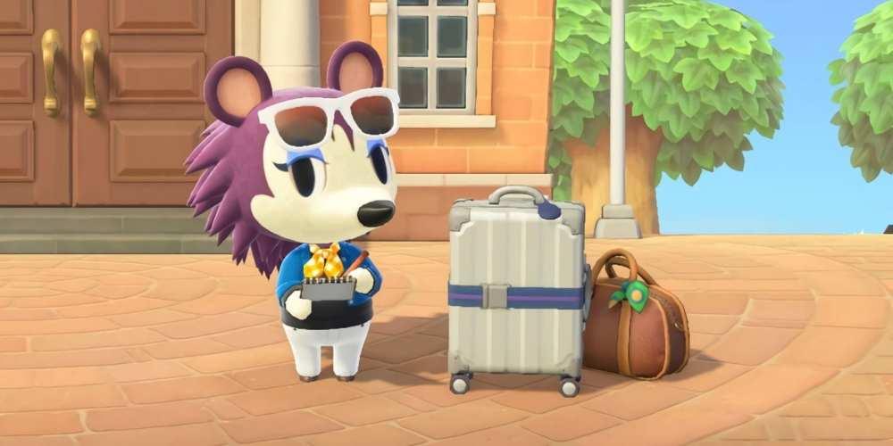 Label in Animal Crossing New Horizons