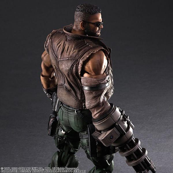 Final Fantasy VII Remake Figure Barret (1)