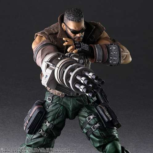 Final Fantasy VII Remake Figure Barret (3)