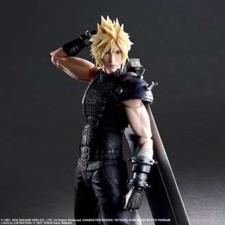 Final Fantasy VII Remake Figure Cloud (3)