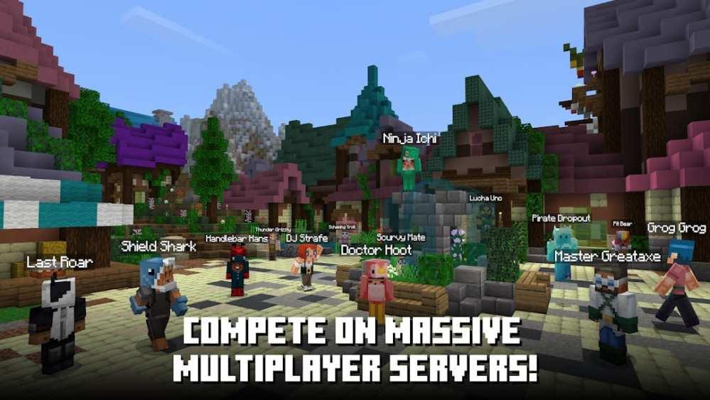 minecraft, friends, multiplayer mobile games