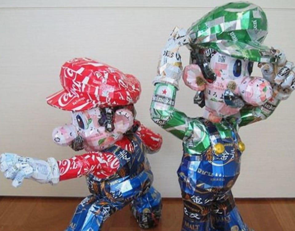 Happy Earth Day! Here Are 11 Pop Culture Icons Made out of Recyclables